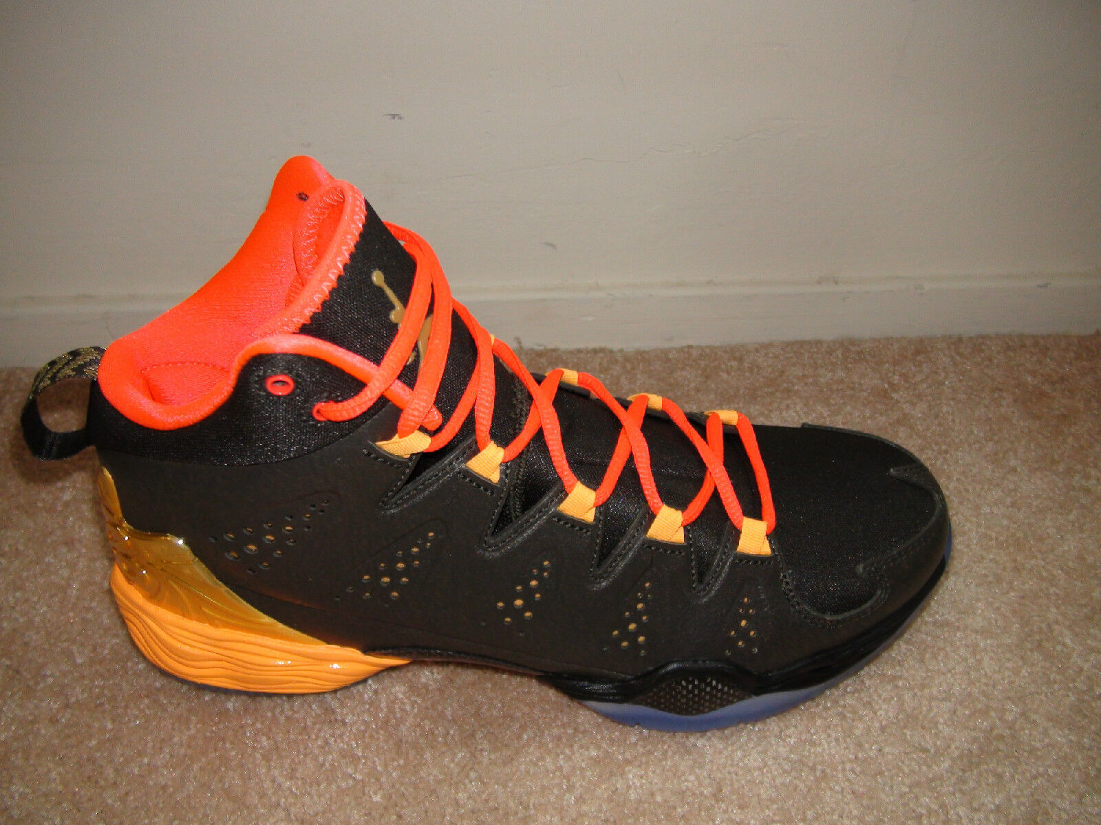 Nike 656325-323 Jordan MELO M10 ALL STAR CRESCENT CITY NEW Black Basketball 10.5