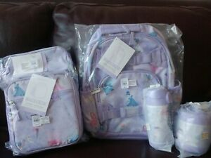 5pc Pottery Barn Kids Magical Fairies Small Backpack