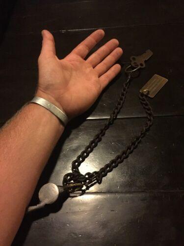 Alcatraz Prison Key Whistle Chain Jailer Issue Combo Set Antique Style vg
