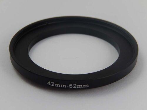 Step Up Adaptador del filtro metal negro 42mm />/>/> 52mm