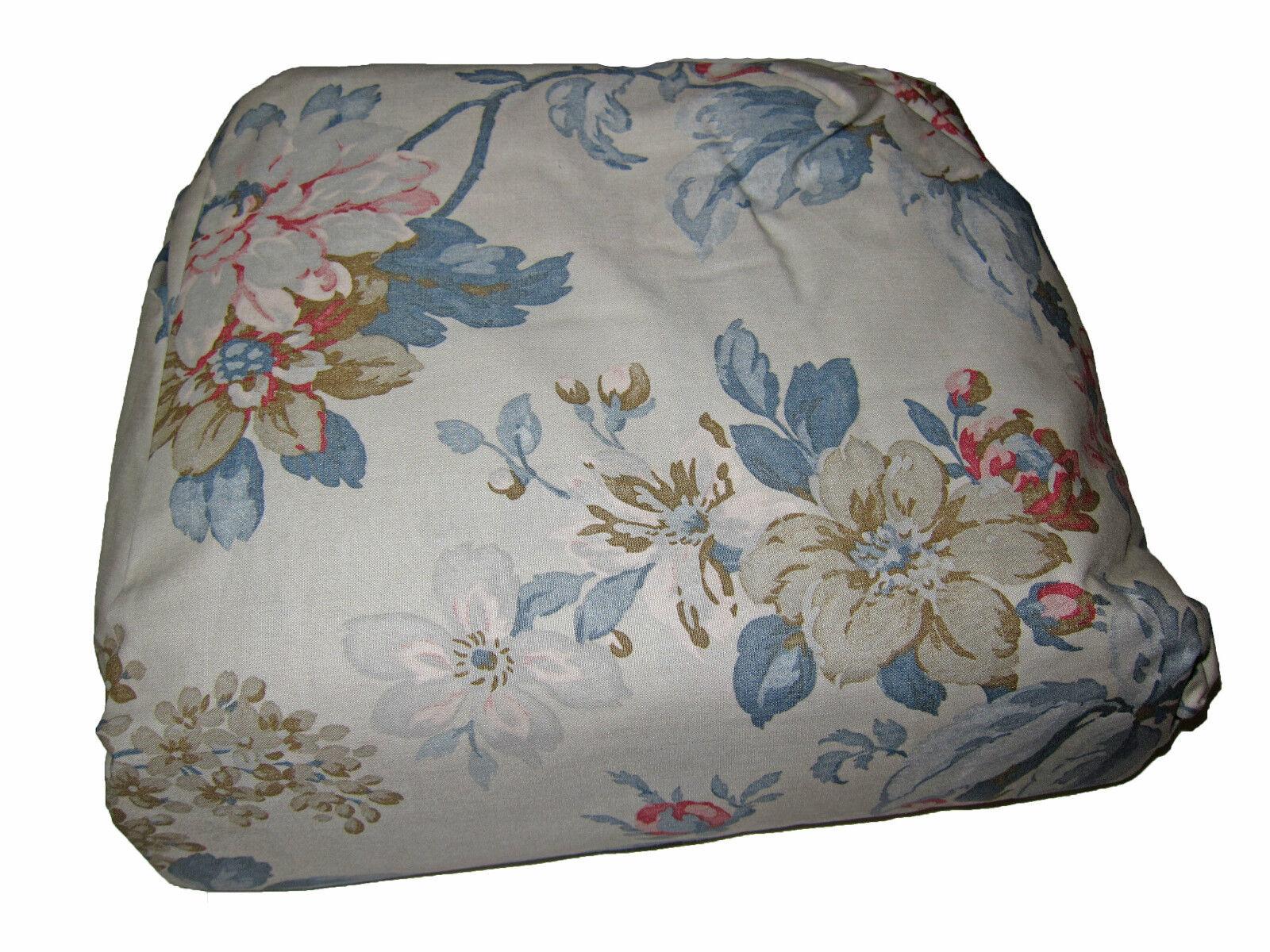 Ralph Lauren Polo Lake House Floral King Bedskirt Bed Skirt