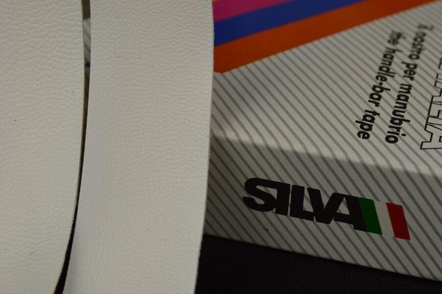 NOS Silva handlebar tape nastro manubrio Olmo plugs vintage New Lenkerband