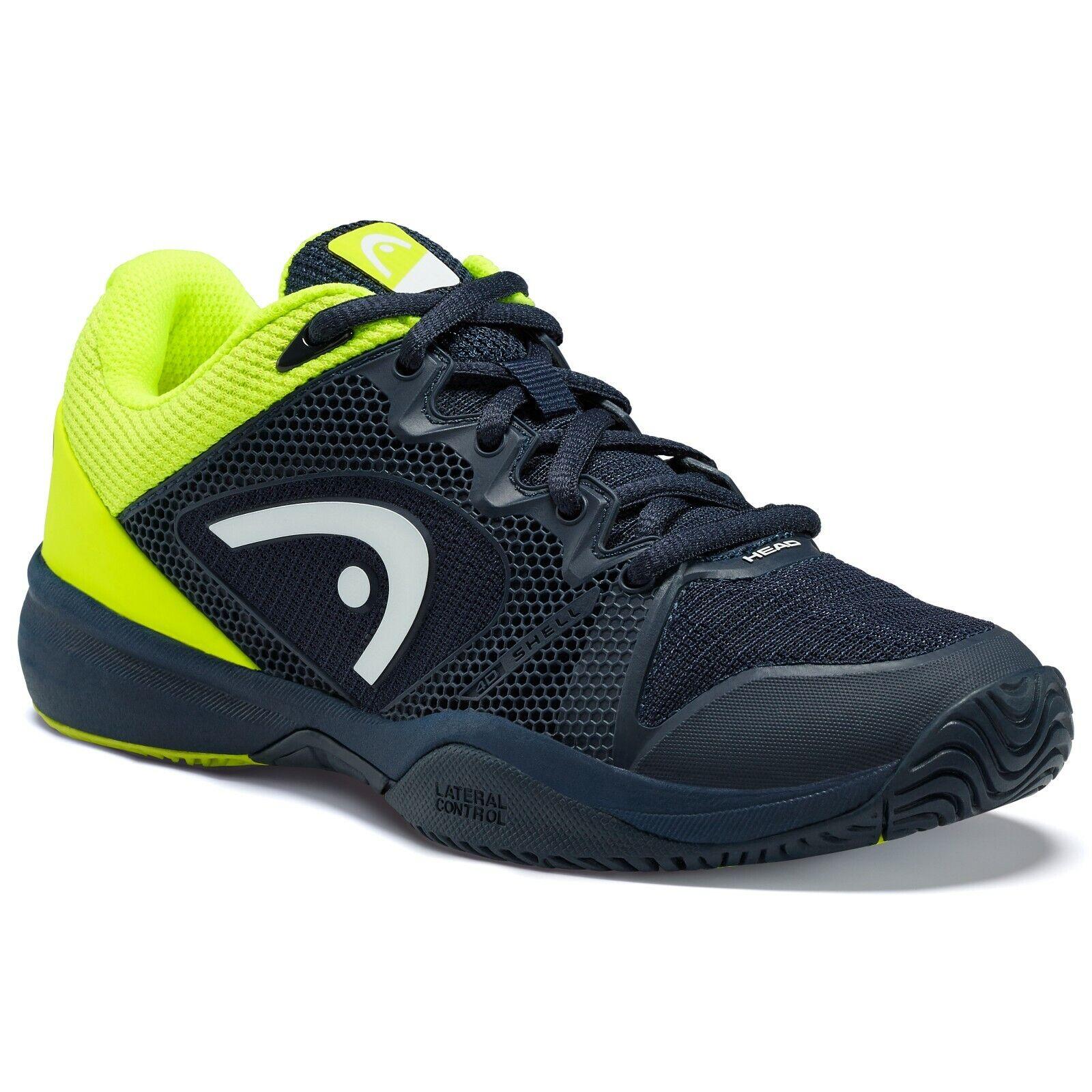Head Revolt Pro 2.5 Zapatos Tenis Junior-Negro verde-Distribuidor Autorizado -