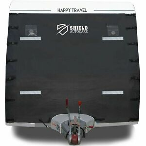 Caravan-Front-Towing-Cover-Protector-Universal-Shield-Guard-LED-Lights