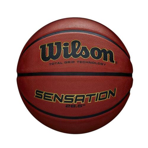 "New Wilson Sensation 28.6/"" Outdoor Total Grip Technology Basketball"