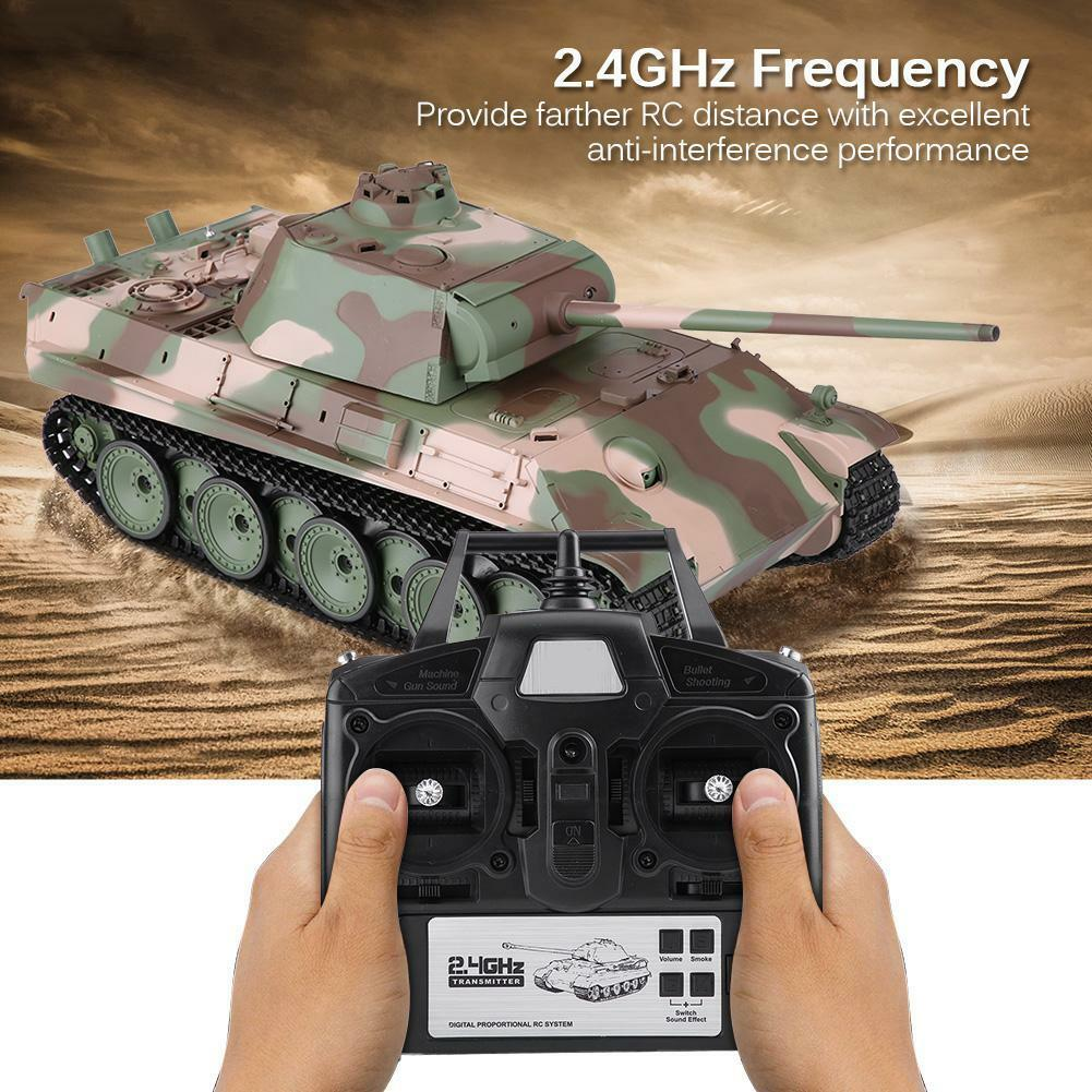 Heng Long 3879-1 1 16 2.4GHz Frequency Remote Control Simulation Model RC Tank