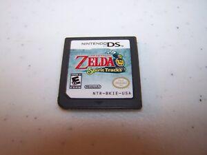 The Legend Of Zelda Spirit Tracks Nintendo Ds Lite Dsi Xl 3ds 2ds