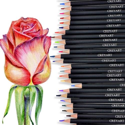 120tlg Aquarell Buntstifte Künstler Etui Bleistifte Aquarellfarbstifte Bleistift