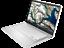 "thumbnail 5 - HP 14"" HD Intel N4020 2.8GHz 32GB SSD 4GB RAM Webcam White/Silver Chrome OS BT"