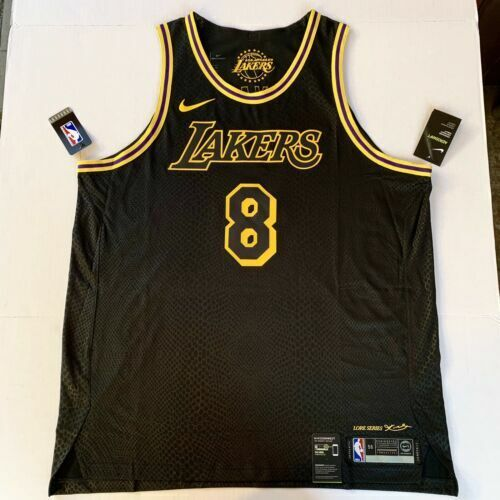newest 42be8 89052 Kobe Bryant #8 Authentic Los Angeles Lakers City Jersey Lore Series Mens  3xl 58 for sale online   eBay