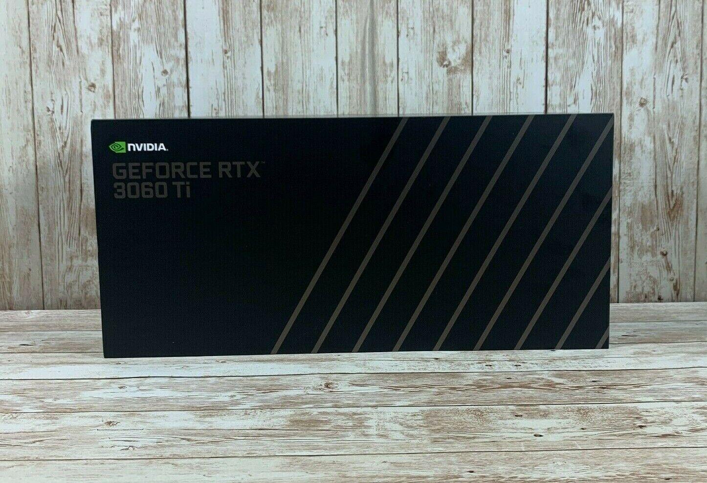NVIDIA GeForce RTX 3060 Ti Founder's Edition FE 8GB GDDR6 Graphics Card GPU