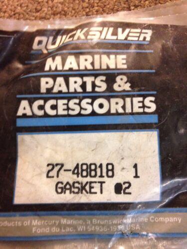 MP250 OEM 27-48818-1 lot of 4 mercury mercruiser thermostat gasket