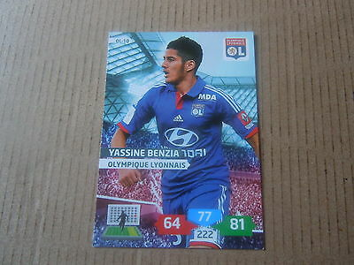 N°10 Carte adrenalyn panini Yassine Benzia Foot 2013//14 Lyon