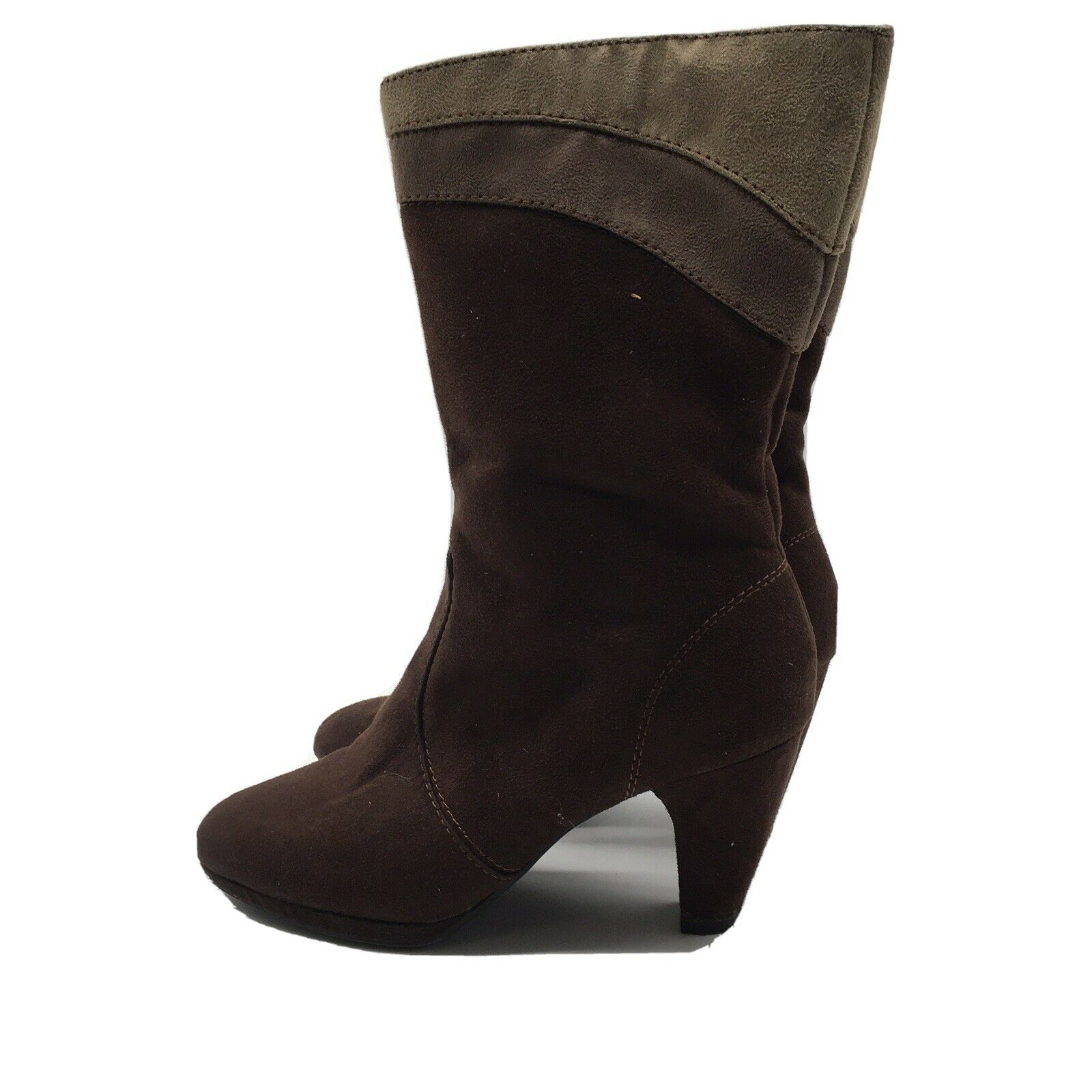 Women's Predictions Brown Boots Very Good Condition Size 7.5