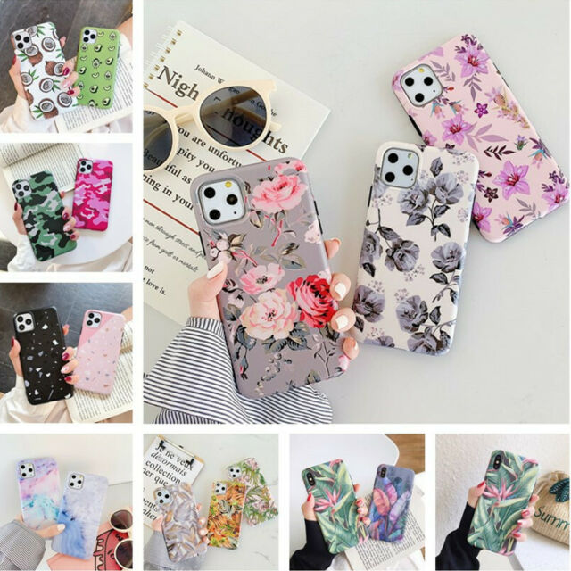 For Apple iPhone 11 Pro Max XS XR X 7 8 6S Plus Pattern Soft Phone Case Cover