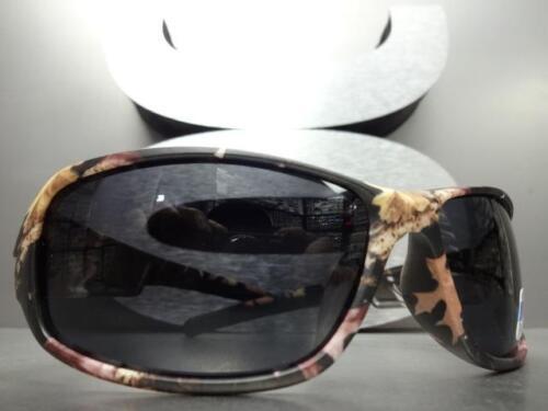 Umwickeln Sport Jagd Angeln Militär Polarisierte Sonnenbrillen Tarnfarbe Rahmen