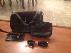 handtas Damesmode portemonnee Pu Nieuw zwarte krokodil 4 delig stijl l5Kc1uTFJ3