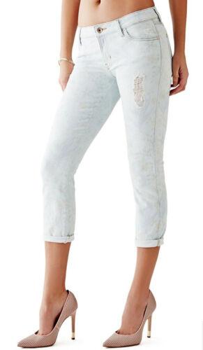 d Skinny Guess Crop Jeans Nwt en axF78wqB8X