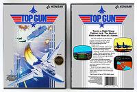 Top Gun - Nintendo Nes Custom Case No Game