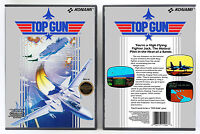 Top Gun - Nintendo Nes Custom Case No Game