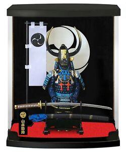 Japanese-Doll-Figure-SAMURAI-ARMOR-SERIES-Sengoku-Yamamoto-Kansuke-21X17-5X9-cm
