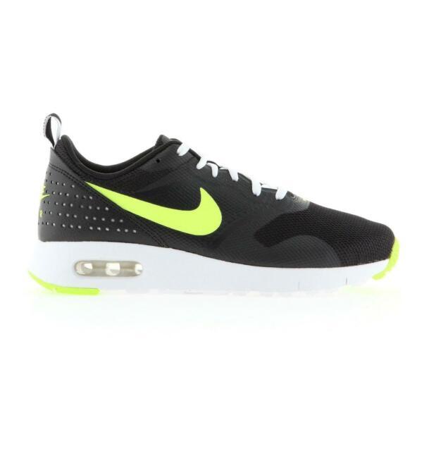 8774ea83e Nike Air Max Tavas Boys Girls Womens Size 4.5 5 5.5 6 Black Trainer ...