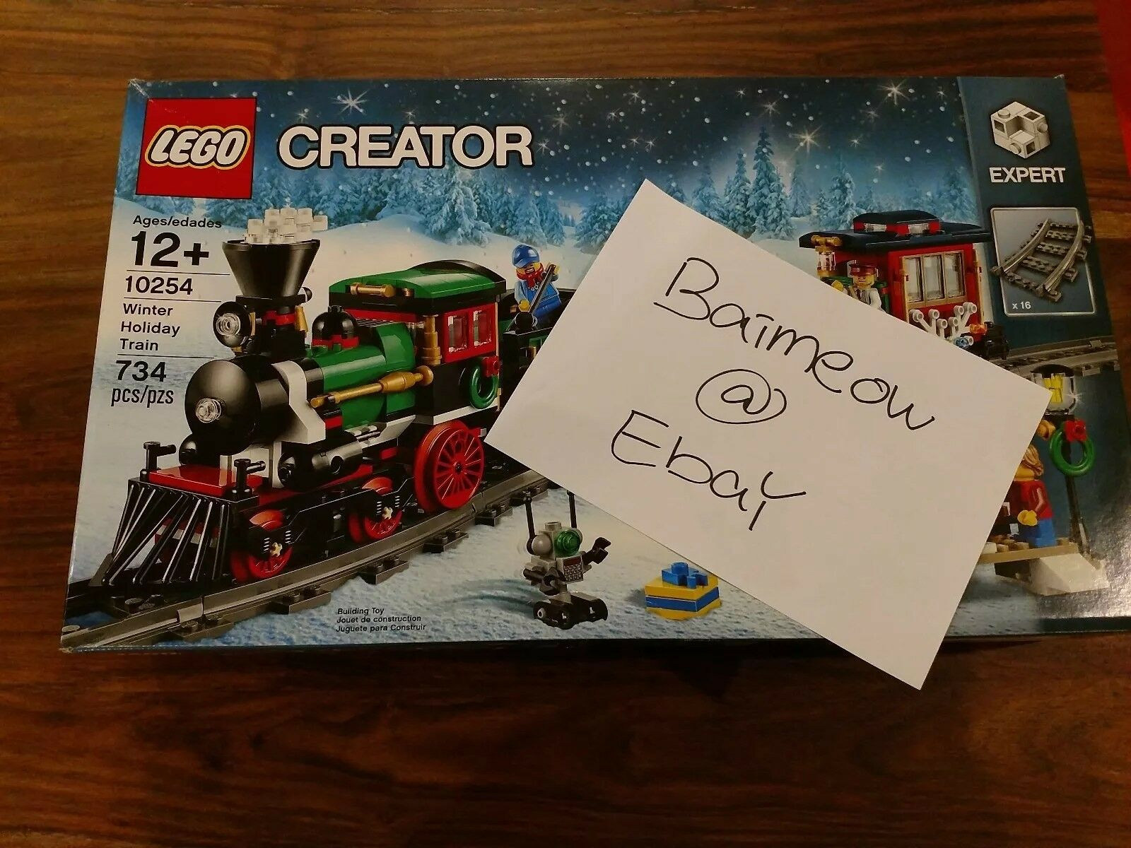 LEGO 10254 Creator Expert Winter Holiday Train new in box