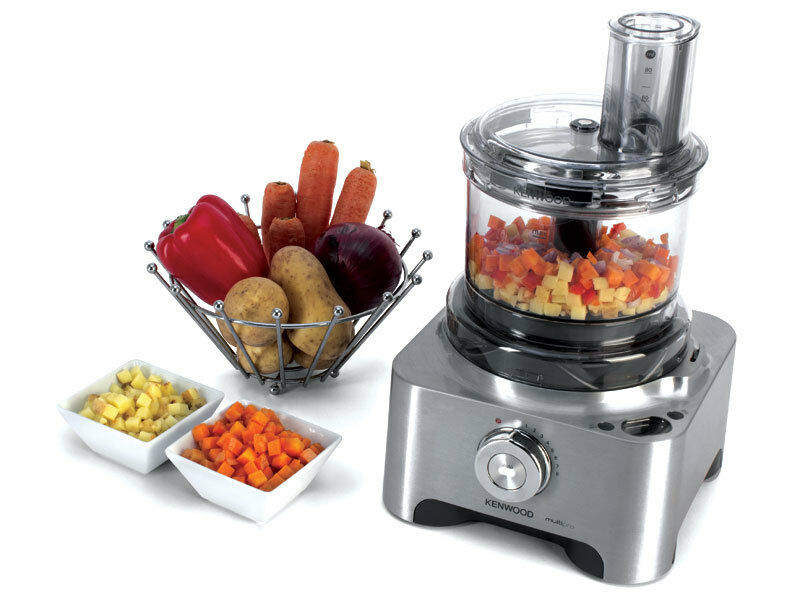 Kenwood FPATDX Multipro Sense Dicing Attachment - Tritan Bowl and Lid - BPA Free