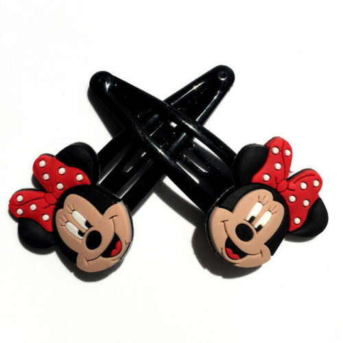 Minnie Mouse Mickey Mouse Hello Kitty Disney Character Hair Clips Slides Grips