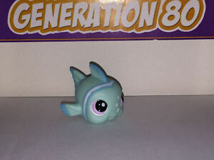 Littlest-PetShop-POISSON-CLOWN-TURQUOISE-YEUX-VIOLETS-1315-FISH-Pet-Shop-B008