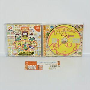 Dreamcast-POP-039-N-MUSIC-4-APPEND-DISC-Popn-Spine-Sega-dc