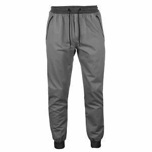 No-Fear-Mens-Ribbed-Waist-Chino-Chinos-Trousers-Pants-Cotton-Zip-Drawstring