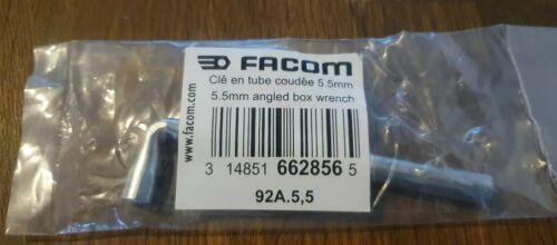 Facom clé en tube coudée 5,5mm ref 92A.5,5