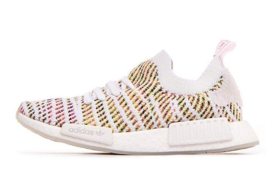 quality design 1e81d 7d5ca Adidas Originals Women s NMD R1 STLT PK shoes shoes shoes White Solar Yellow  B43838 c e04041