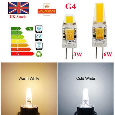 G4 LED COB Dimmable 3W 6W Capsule Lamp Bulbs Energy Saving AC//DC 12V US STOCK