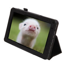 """iRulu 9"""" Black Leather Protective Case Stand Cover for iRulu eXpro X1a 9"""" Tablet"""
