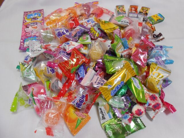 Japanese Candy 40 piece pack Random Assorted Dagashi MIX from JAPAN send by SAL