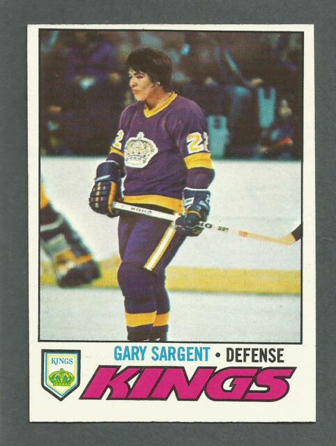 1977-78 Topps Hockey Gary Sargent #113 Los Angeles Kings NM/MT