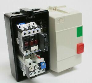 Elimia Reversing Magnetic Motor Starter 55-70A 120V IP65 Sealed Steel Enclosure