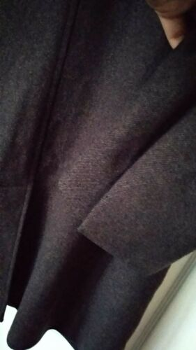 manteau brun vgc 40 Reiss Long mélange L taille en laine de 42 4gvxw1xqd5