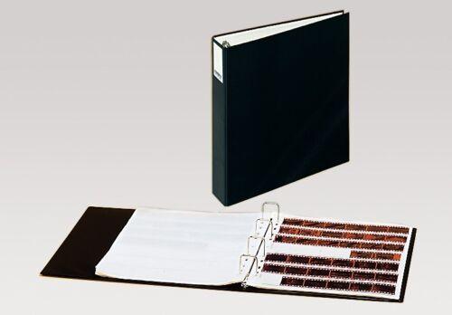 Álbum de almacenamiento KAISER K2500 35 mm negativo Binder incluso 25 páginas translúcido