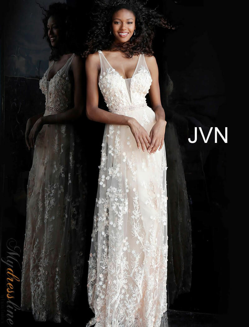 Jovani JVN66127 Evening Dress Dress Dress LOWEST PRICE GUARANTEED NEW Authentic Gown f922d3