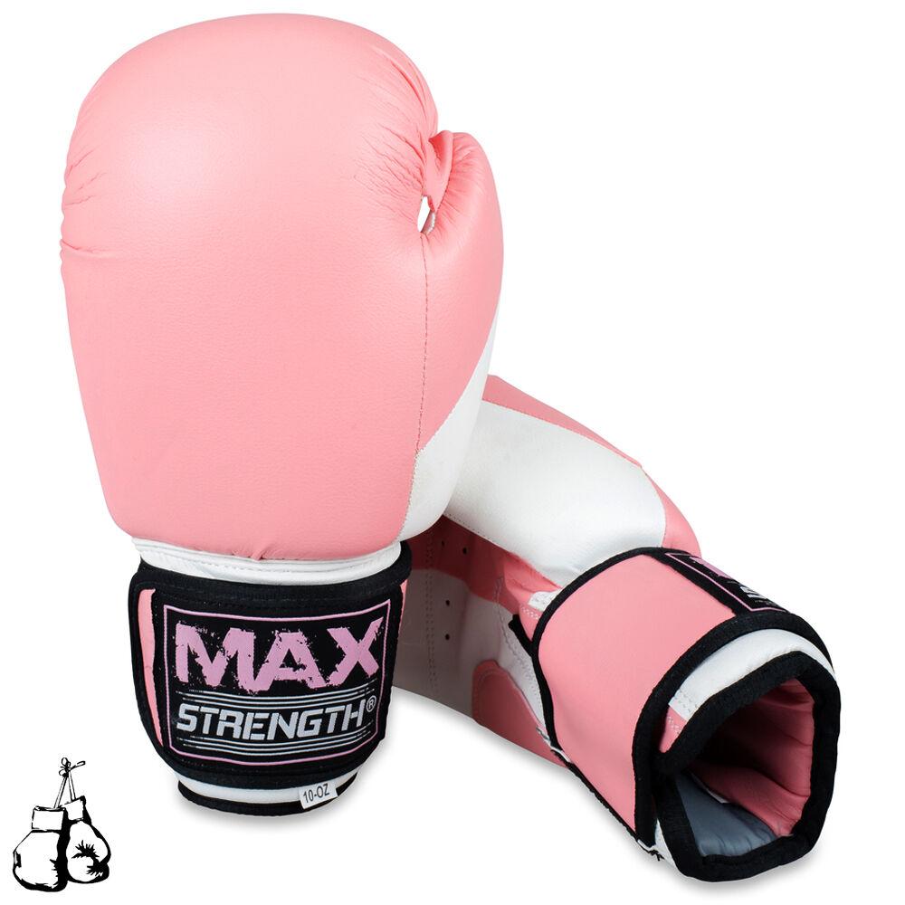 Damen Boxen Focus Pads Set MMA Haken und Seitenhieb Seitenhieb Seitenhieb schlagen Rosa bf4b20
