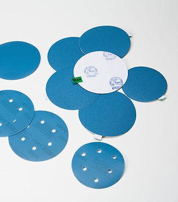 """Wet or Dry Sanding Disc Waterproof Film DEERFOS 6"""" 150mm Hook & Loop 240-2000"""