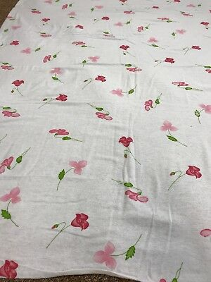 Novelty Sheep 100/% cotton soft flannelette remnant craft material fabric piece
