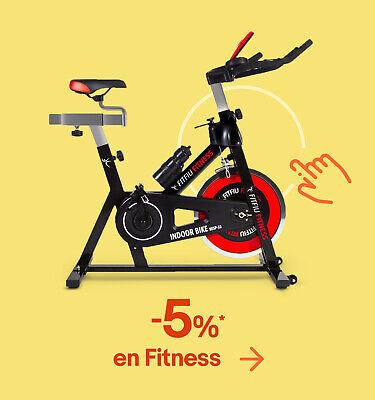 -5%* en Fitness