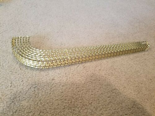 """NEW GOLD 7 TWIST BICYCLE CHAIN GAURD FOR 20/"""" LOWRIDER BICYCLES"""