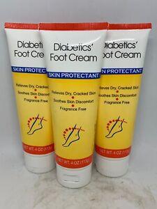 Brand New Diabetic Foot Cream Skin Protectant Fragrance Free 4