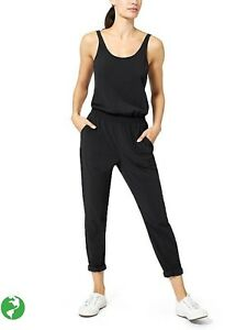 5c060e009ca Image is loading Athleta-Roaming-Romper-Black-NWT-128-14