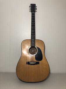 Suzuki Acoustic Guitar Nagoya Japan EST 1887 - Rare - For Parts/Repair/Restore